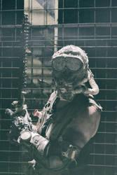 Postapocalyptic Character:  The Dust Phantom by AestheticApocalypse