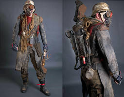 Wasteland Veteran by AestheticApocalypse