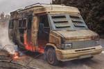 Post apocalyptic camper van by AestheticApocalypse