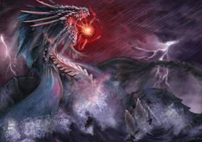 ShengLong The Rain Dragon by julian2105