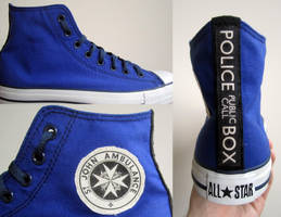 TARDIS Shoes by MUFC10