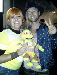 Greg Cipes and Me by YoruichiNyow