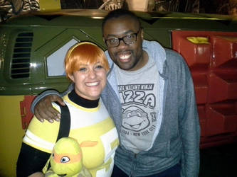 Andre of BlackNerdComedy and Me by YoruichiNyow