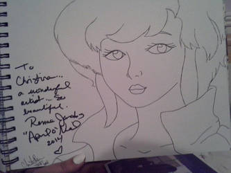 Renae Jacobs Autograph by YoruichiNyow