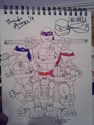 Ciro Nieli and Brandon Auman Autograph by YoruichiNyow