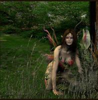 Fairie Nymph by DarkStormX1