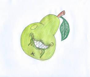 Biting Pear by Nixon66sam