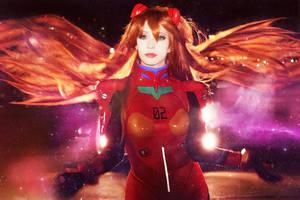 Asuka with Shining Lights by LoliSakura