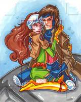 Rogue x Gambit AP by CapnFlynn