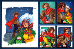 AoA Rogue and Gambit by CapnFlynn