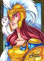Classic Myth: Athena by CapnFlynn