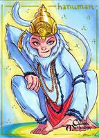Classic Myth: Hanuman by CapnFlynn