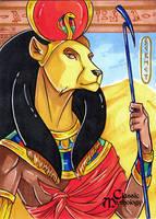 Classic Myth: Sekhmet by CapnFlynn