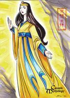 Classic Myth: Amaterasu by CapnFlynn