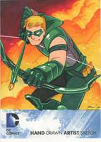 Green Arrow - New 52 by CapnFlynn