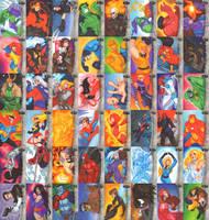 Marvel Premier Singletons by CapnFlynn