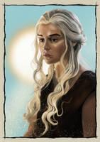 Danaerys Targaryen by ceb1980
