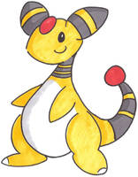 More Ampharos by GeminiToad