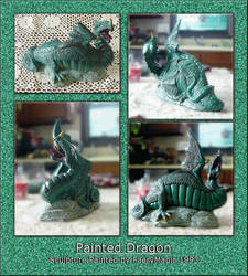 Faery's Painted Dragon - 1993 by faerymagic