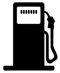 Petrol station symbol by RiverKpocc