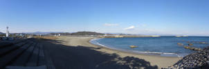 Katsurahama Beach by RiverKpocc