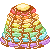 Thin Rainbow Pancakes 50x50 icon