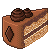 Piece Of Chocolate Cake 50x50 icon (another side)