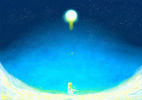 moon by marutomoi