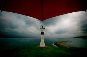 Red Umbrella I by sozesoze
