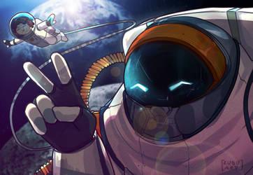 Astronautilus y Nauti by NathyLove5