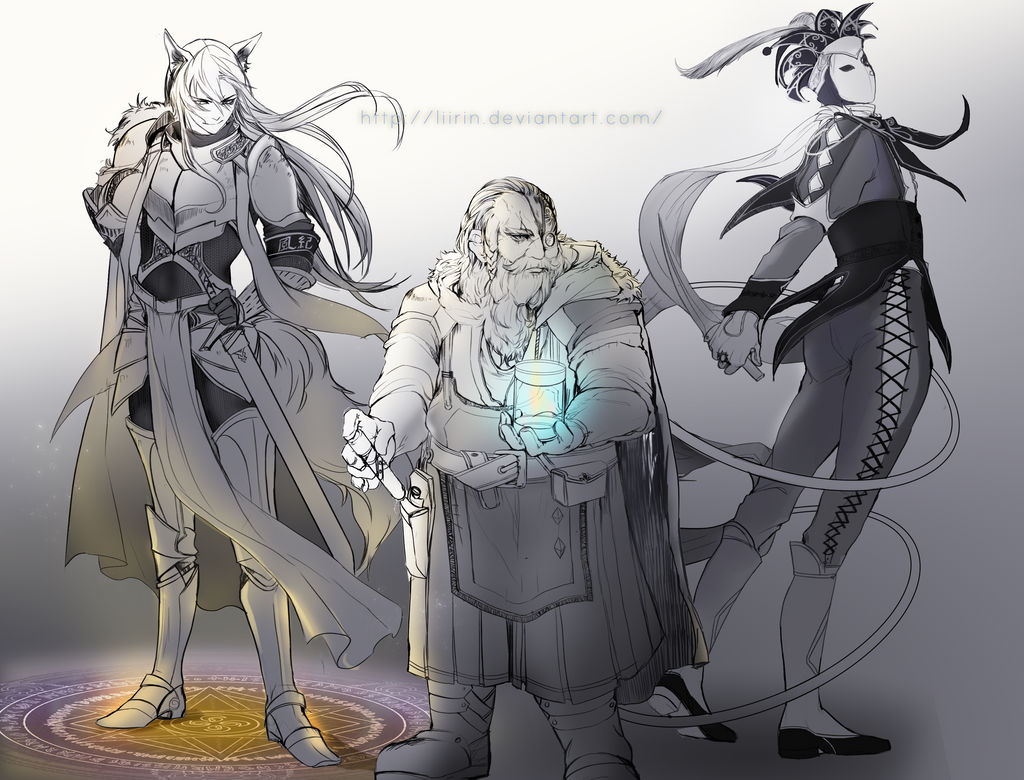 [ COM ] DESIGN CHARACTER by Liirin