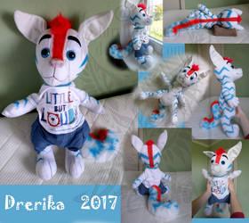 CM: AJ anthro baby plushie by Drerika