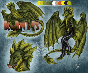 CM: Kiantis ref sheet by Drerika