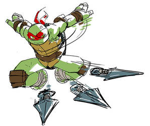 Raphael is best turtle by yamiza