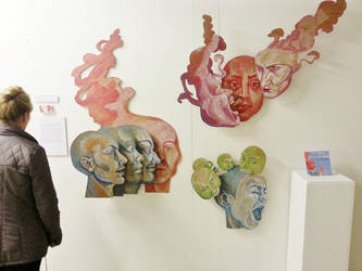 Final Exhibition - 'The Mind' by Dr-Ellis-Skyes