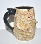 Fanged Beast mug One of a Kind by scravismugs
