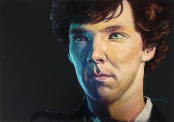 Finding Sherlock by brandiyorkart