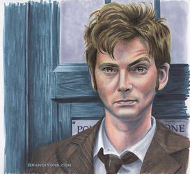 The Doctor, Tenth by brandiyorkart