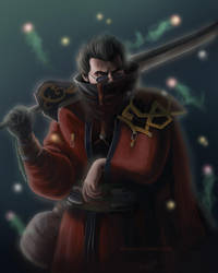 Warrior Through The End by brandiyorkart