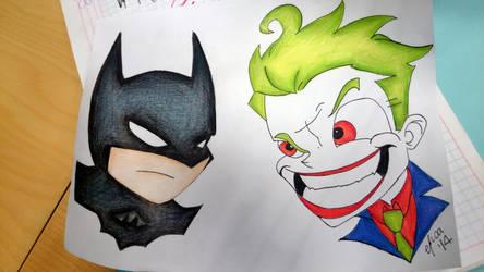 Batman vs Joker by cHoCoLaTe-DeViL