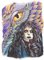 Alice Cooper :: Dragontown by dragonladych