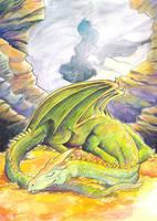 Sleeping Dragon by dragonladych