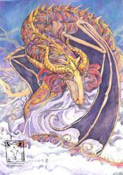 Cute Dragon by dragonladych