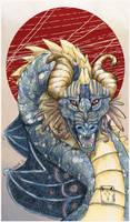 Chaos Dragon by dragonladych