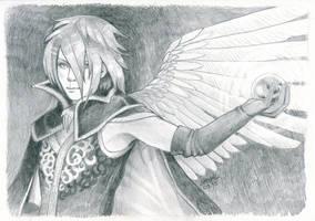 Crystal Angel by dragonladych