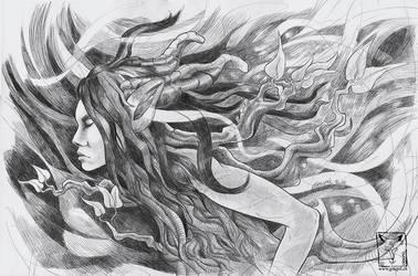 Dryad by dragonladych