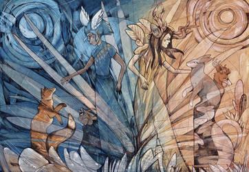 Twofold by dragonladych