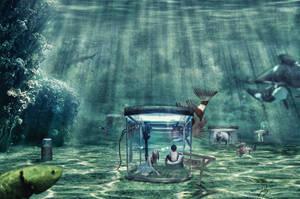 Underwater Zoo by dinosimplicissimus