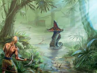 Gothic I: Swamp by scerg