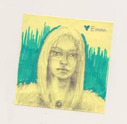 Emma Frost by BryanWesleyThomas